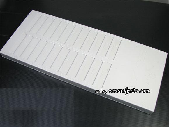 24pcs Clear Soft Plastic Name Punch Vertical Badge Id Card